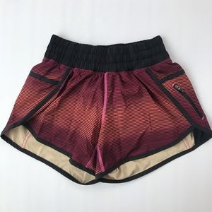 Lululemon Athletica short multi stripe- size 2